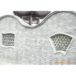 水泥花窗(仿古砖瓦) 水泥