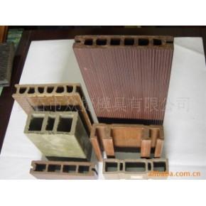 木塑塑木产品木塑地板、户外景观、扶手、长城板