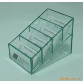 平板玻璃名片架,便条纸架,手机座
