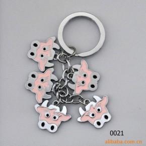 彩串钥匙扣 钥匙扣 金属