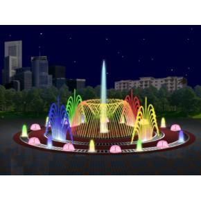 喷泉假山施工北京喷泉
