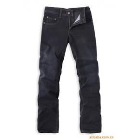 501 中腰 牛仔 男裤 黑蓝色 直筒