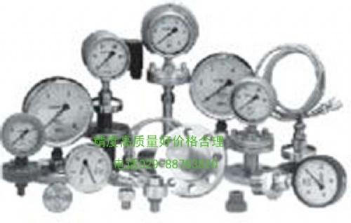 YB-150N精密耐震压力表\QGD-200气动定值器