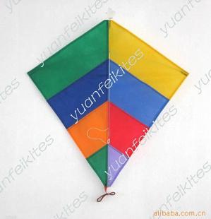 促销礼品风筝 菱形风筝 定做加工出口,环保材质