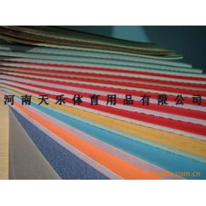 天乐牌专业PVC运动塑胶地板羽毛球专用4.5毫米