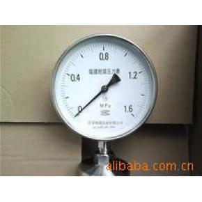 隔膜耐震压力表 天仪 隔膜压力表