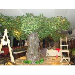 环保假树,榕树,古榕树,