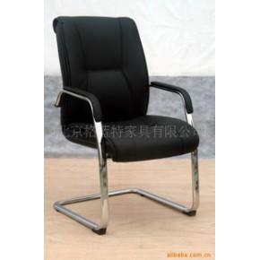 会议椅  电镀支架弓形会议椅