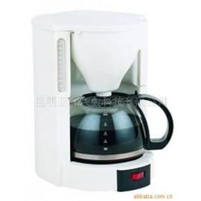 精致耐用美式咖啡壶 6人份 白色