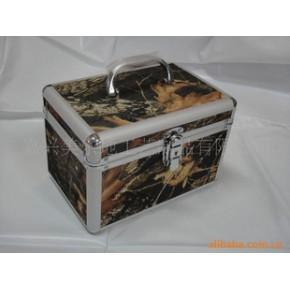 铝合金化妆箱、化妆箱、迷彩化妆箱、化妆箱三件套