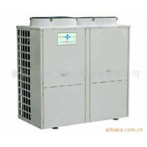 空气源热泵+太阳能热水工程