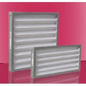 洁净室空调专用褶形子母架构板式初效过滤器