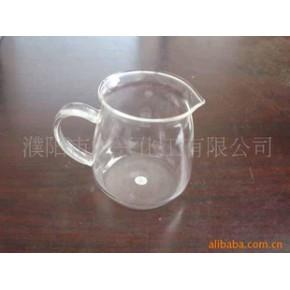 玻璃公杯、茶具、手工玻璃杯