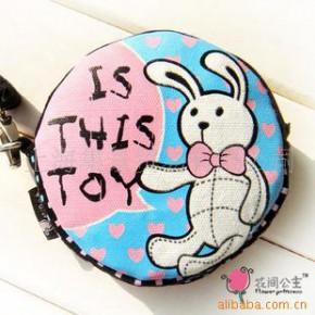 【花间公主原创设计】大钮扣系列之二可爱钱包,随身包