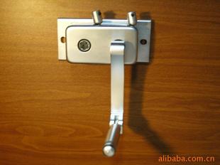 方形铝合金手摇器升降晾衣架