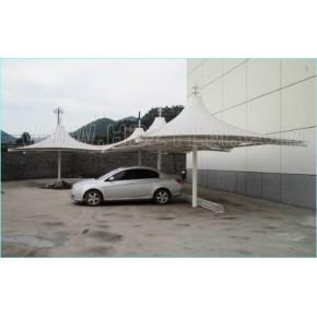 湖南省永新县膜结构多用停车棚