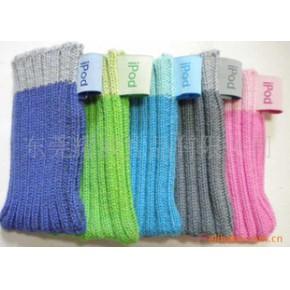 针织手机套 间色手机袋 手机袜套(欧洲标准,)