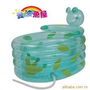 曼波鱼屋可爱青蛙游泳池 超大空间 09年新款