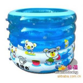 曼波鱼屋 婴儿充气游泳池套装(IP-2) 配电动泵