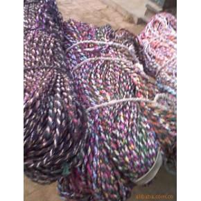 三股绳,手工布条三股绳,布条扭绳