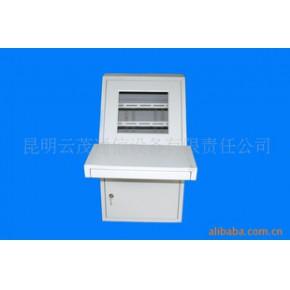 云南监控设备-豪华型嵌入式单人信息监控操作台