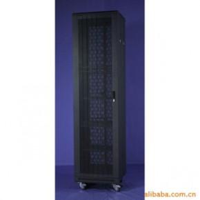 昆明生产网络服务器机柜-豪华型板块圆弧网孔门37U
