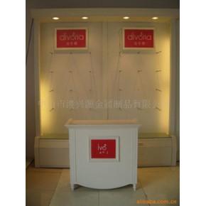 展示架-供应服装店用的服装展柜