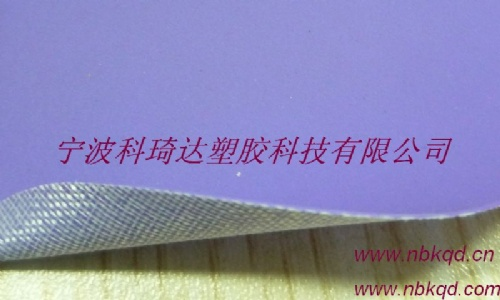 涤纶网格布复合PVC雨衣面料耐寒零下30摄氏度