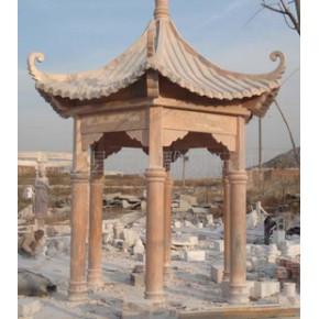 石雕 亭子  花架 长廊
