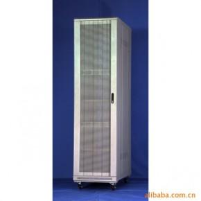 云南生产网络设备机柜-豪华型板块圆弧网孔门37U