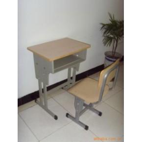单人双腿单斗课桌椅(经久耐用、美观大方)