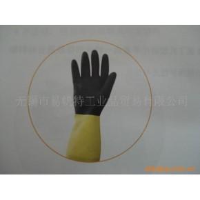 金佰利G80氯丁乳胶防化手套