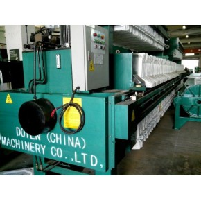 厢式高处理铜矿钨矿稀土工业废水自动液压1250型压滤机防