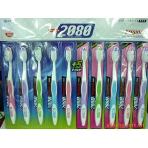 韩国进口2080大家庭10p牙刷 韩国商品批发供应