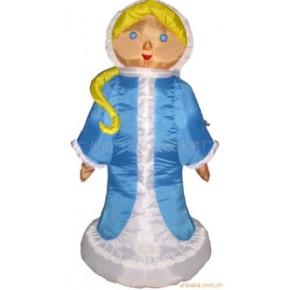 俄罗斯女孩 天使 户外装饰工艺品 圣诞节庆用品