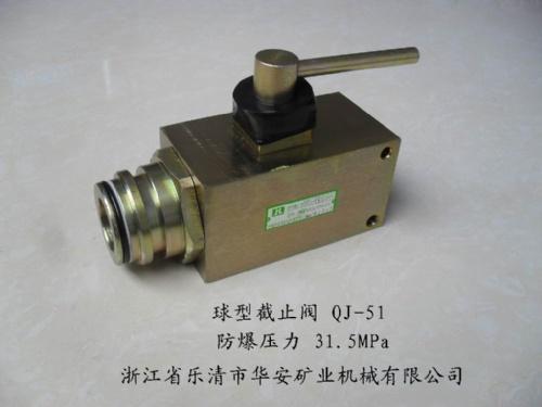 矿用球阀QJ-51