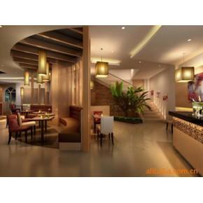 餐饮空间室内设计、装修设计、效果图制作