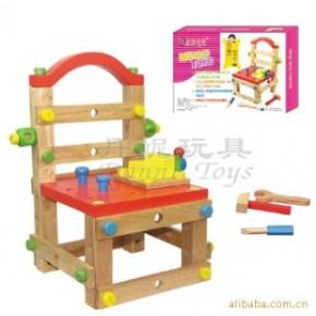 品牌玩具 木质益智玩具 积木 玩具 创意工作椅