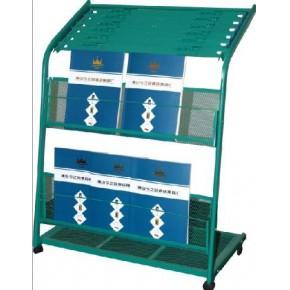 订制银行书报架、农行书报架、订制书报架、可拆式报纸架