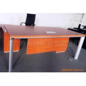 办公桌     电镀支架经理桌