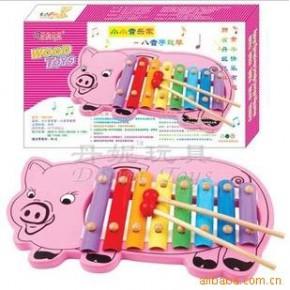音乐玩具 木制 儿童玩具 丹妮 玩具/八音手敲琴