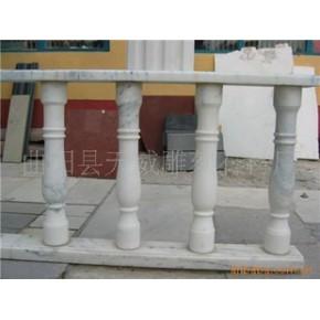 栏板 阳台柱 汉白玉 防护栏