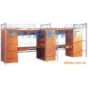 供教学家具课桌椅 学生床公寓床 校用家具