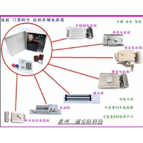 门禁系统电控系列安装示意