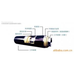 钢套钢蒸汽预制保温管 天津