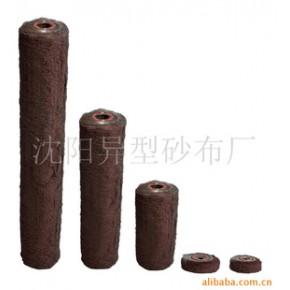 砂布丝纹轮,对淋漆面,不规则平面有明显效果。用于各种非金属,