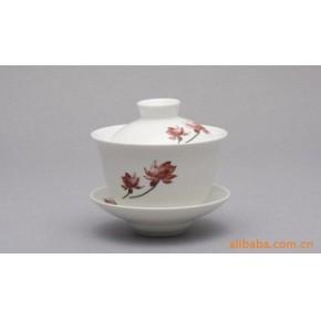 台湾商务礼品茶具 陶瓷器功夫茶具套装批发 盖碗