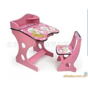 儿童书桌QQ宝贝 环保无味平面斜面调节 独创扇贝椅