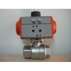 不锈钢气动二片内螺纹球阀Q611F-40PDN20