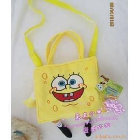 SpongeBob海绵宝宝/儿童书包/单肩挎包
